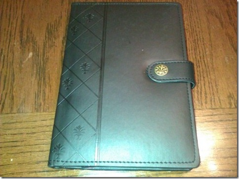 Kindle case - outside